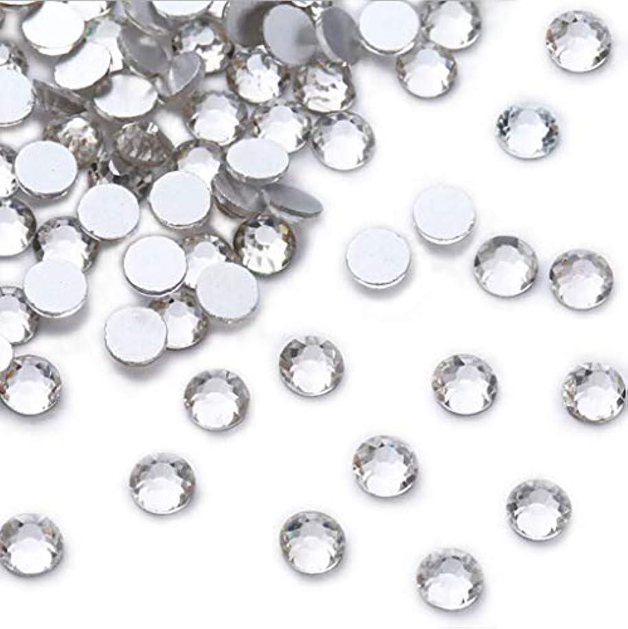 研究クレタ虫XIULIラインストーン DIY ネイルを飾てと服装使用 高い採光 ホワイト ss3-30 (3.2mm ss12(1440粒), サイズ)