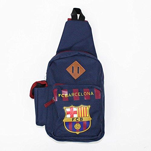 FCバルセロナ オフィシャル ボディバッグ(ネイビー)FCB-075