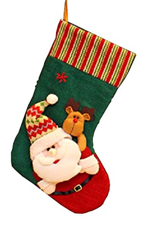 クリスマス 靴下 クリスマスツリー 靴下 飾り ソックス 子供 プレゼント用 靴下 (サンタ)