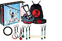 Slackers Ninjaline 11m Intro Kit with 7 Hanging Obstacles