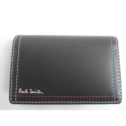 ポールスミス(paul smith) カードケース ブラック(メンズ)