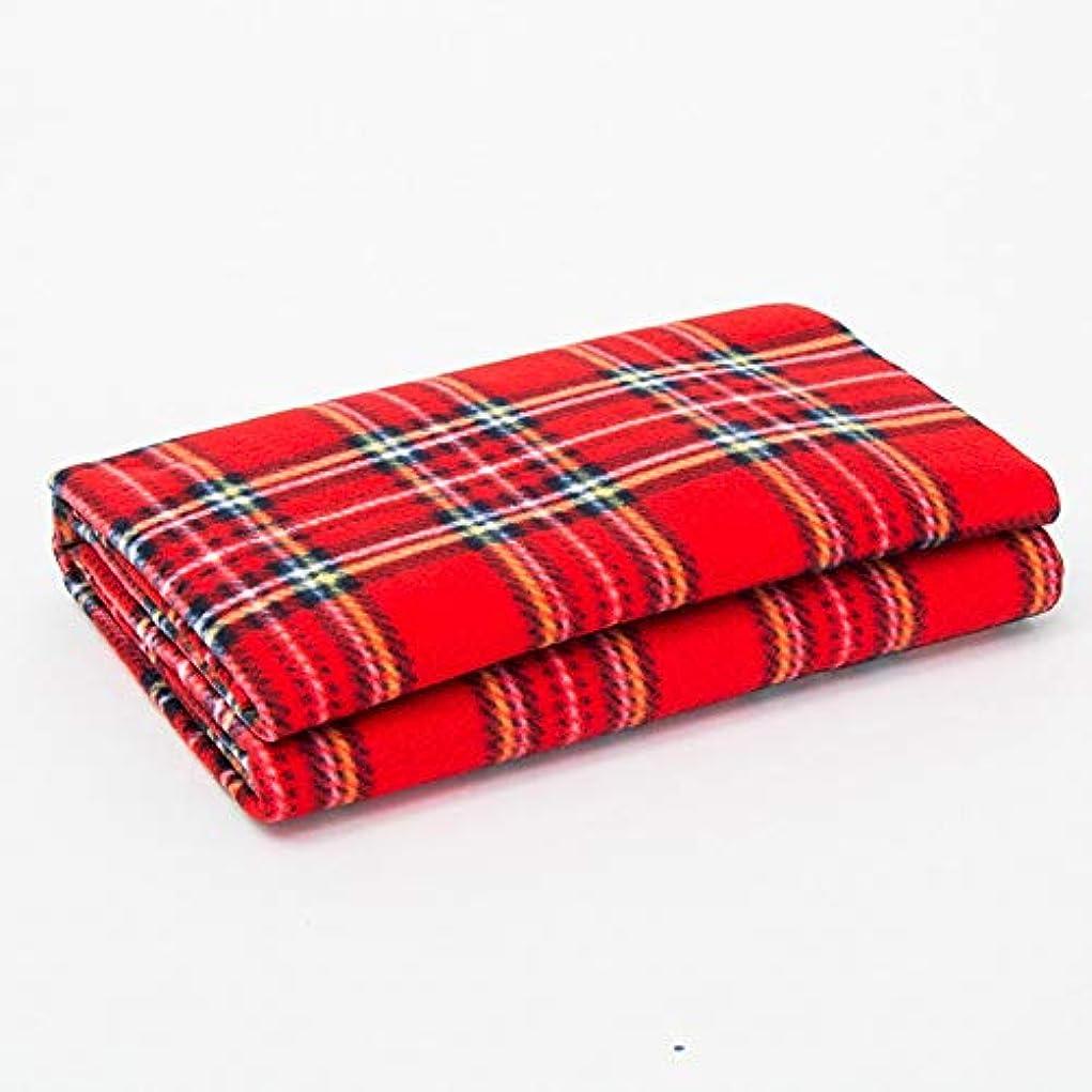 教全能ボトル特大のピクニック毛布機械洗える格子縞のパターンのキャンプのマット (サイズ : 150*130cm)