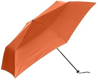 [ムーンバット] FLO(A) TUSフロータス (超撥水 UV加工) 軽量 ペンシルミニ傘 31-007-10021-02 オレンジ 日本 親骨の長さ50cm (FREE サイズ)