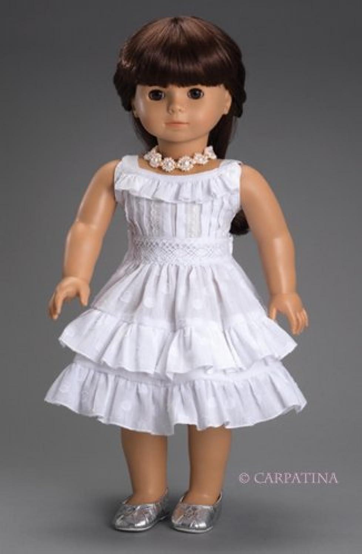 Carpatina American Girl Dolls Fleur Blanc Dress [並行輸入品]