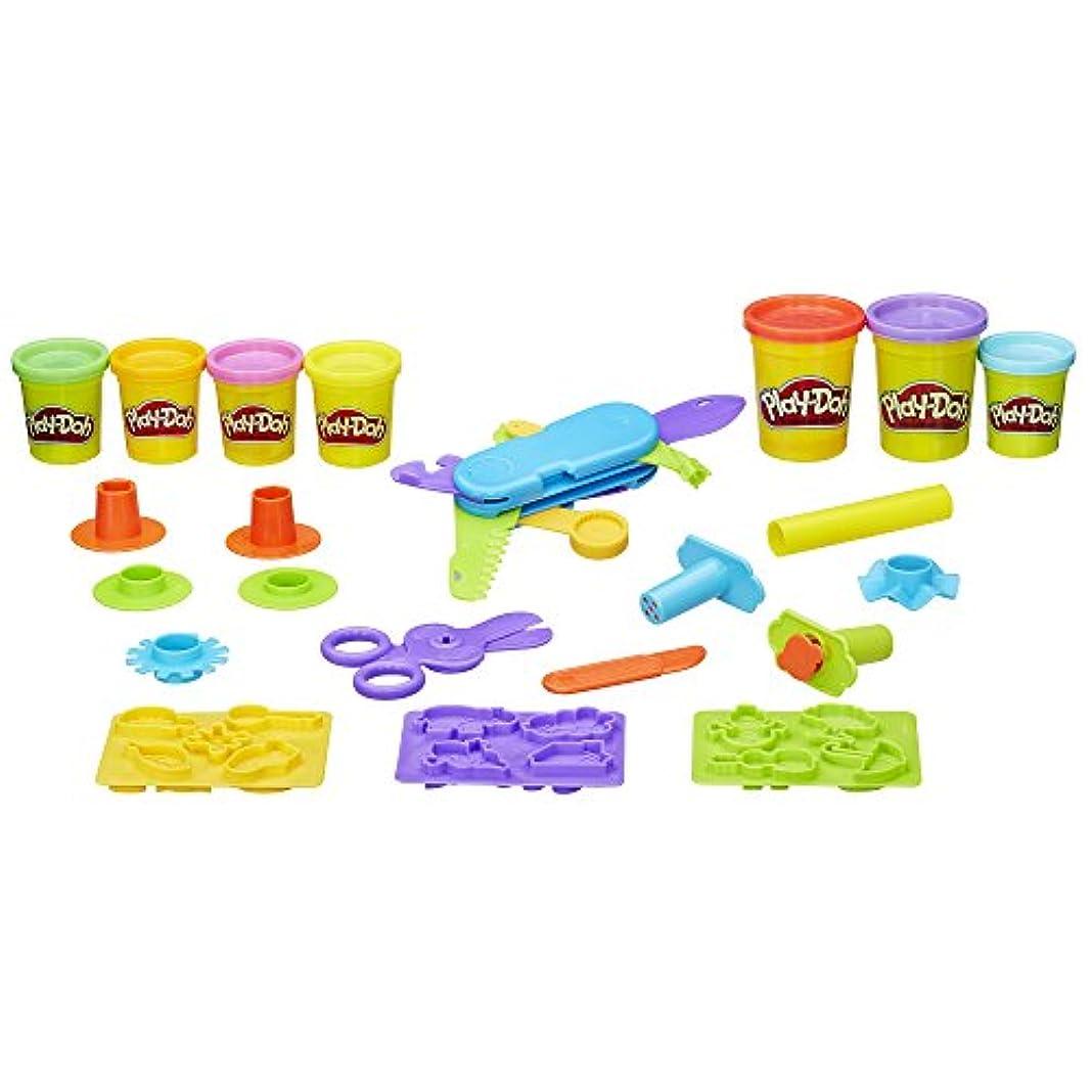 離れて芝生メロディアスPlay-Doh Toolin Around Playset