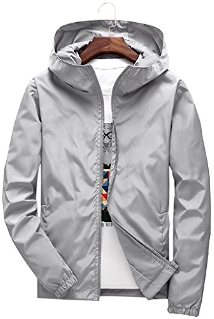 状態実行するメジャーウィンドブレーカー メンズ 防風 ジャケット ナイロン 登山 軽量 柔らかい パーカー スタジアムジャンパー