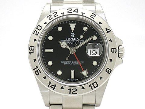 (ロレックス)ROLEX 腕時計 エクスプローラー2 16570(Z) SS