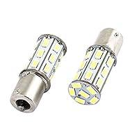 1156 BA15S 27-LED 5730 SMDは、自動バックアップのための電球ホワイトペアを回し