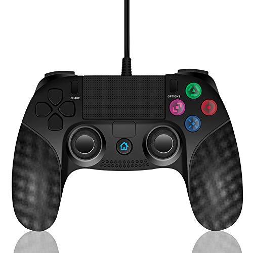 Lilyhood ps4 コントローラー ps4 バージョン 5.53対応 USB コントローラー 振動機能搭載 ゲームパッド (DUALSHOCK 4)