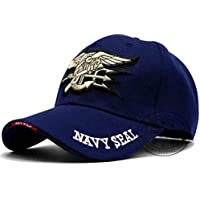 MKJNBH Us Navy Embroidered Seal Team Baseball Cap Police Tactical Cap Hat Low Profile Men