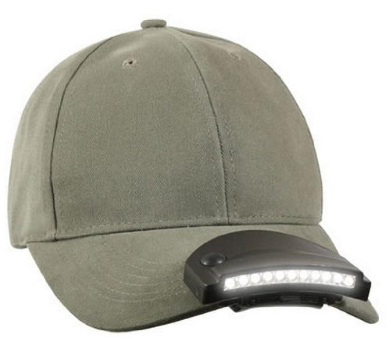 にぎやかスパイ添付(ロスコ) ROTHCO 11 LEDキャップライト 11 LED Cap Light 〔427〕