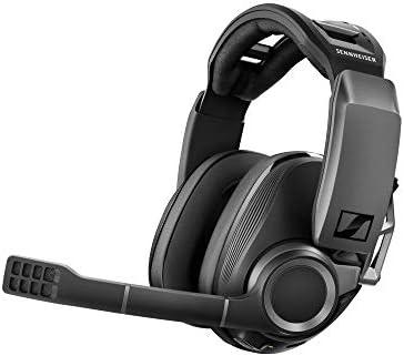 ゼンハイザー ワイヤレスゲーミングヘッドセット GSP 670|ローレイテンシー&Bluetooth接続、7.1チャンネルサラウンド・サウンド、ノイズキャンセリングマイク、簡単マイクミュート機能|PC、PS4、ス