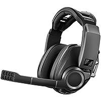 ゼンハイザー ワイヤレスゲーミングヘッドセット GSP 670|ローレイテンシー&Bluetooth接続、7.1チャンネルサラウンド・サウンド、ノイズキャンセリングマイク、簡単マイクミュート機能|PC、PS4、スマホ対応【国内正規品】