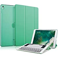 MS factory iPad Pro 12.9 2017 ケース カバー iPadPro アイパッド プロ 12.9インチ 第2世代 スマートカバー オートスリープ 全10色 エメラルド グリーン ミント IPDPRO2-SMART-GRN