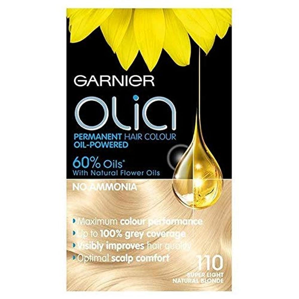 配送ほめる不道徳[Garnier ] 永久的な毛髪染料最大ブリーチ110 Oliaガルニエ - Garnier Olia Permanent Hair Dye Maximum Bleach 110 [並行輸入品]