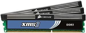XMS DDR3メモリ TR3X6G1333C9 6GB(2GB×3枚セット) 1333MHz