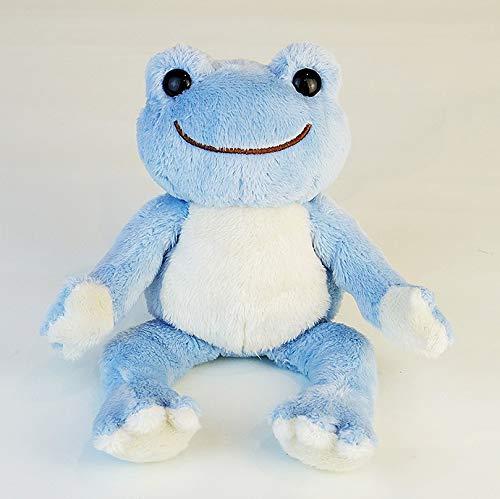 ナカジマコーポレーション(Nakajimacorp) にじいろピクルス ビーンドール しずく ブルー 座高16×W12×D15cm pickles the frog 135896-19
