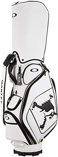 [オークリー]キャディーバック SKULL GOLF BAG 12.0 WHITE/BLACK