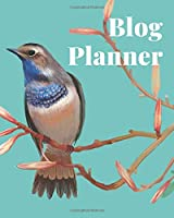 Blog Planner: Journal to record your blog info, social promotion, stats, planning, posts, post series, contacts and more.