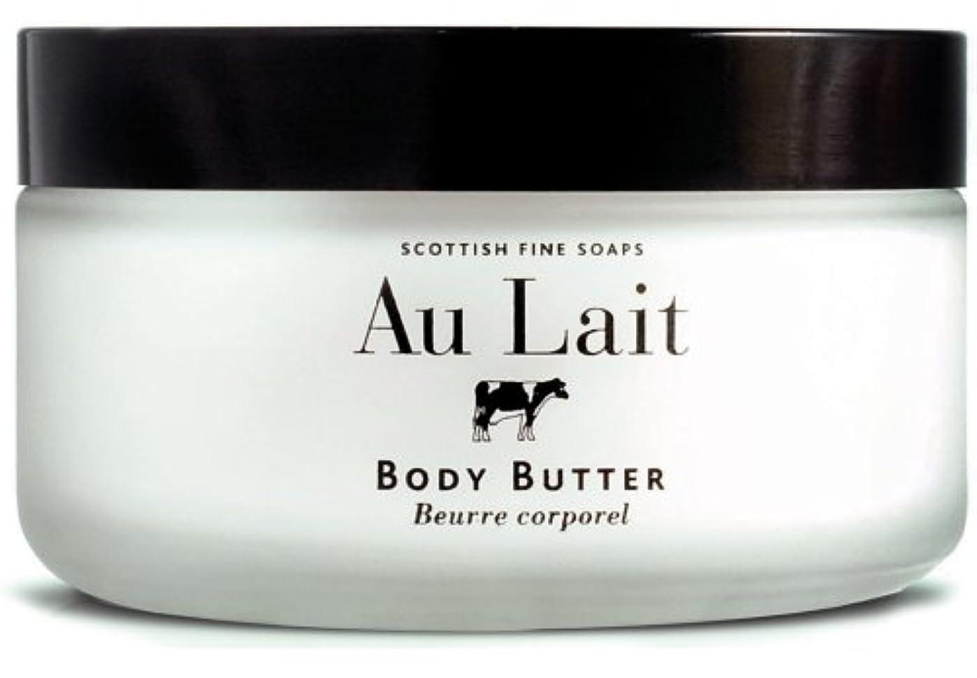 絶えずセクション緩むSCOTTISH FINE SOAPS (スコティッシュファインソープ) Au Lait ボディバター