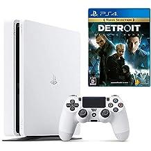 【プライムデー特別価格】PlayStation 4 グレイシャー・ホワイト 500GB + Detroit: Become Human セット(CUH-2200AB01)