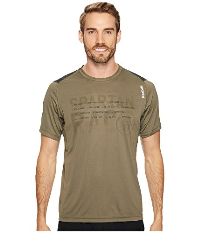 リーボック トップス シャツ Running Tech Tee Shirt Modern Oli 27r [並行輸入品]