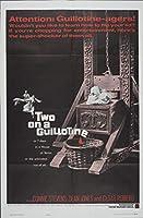 キャンバスに映画ポスタージクレープリント - 映画ポスター複製壁の装飾(2つのギロチン2) #XFB