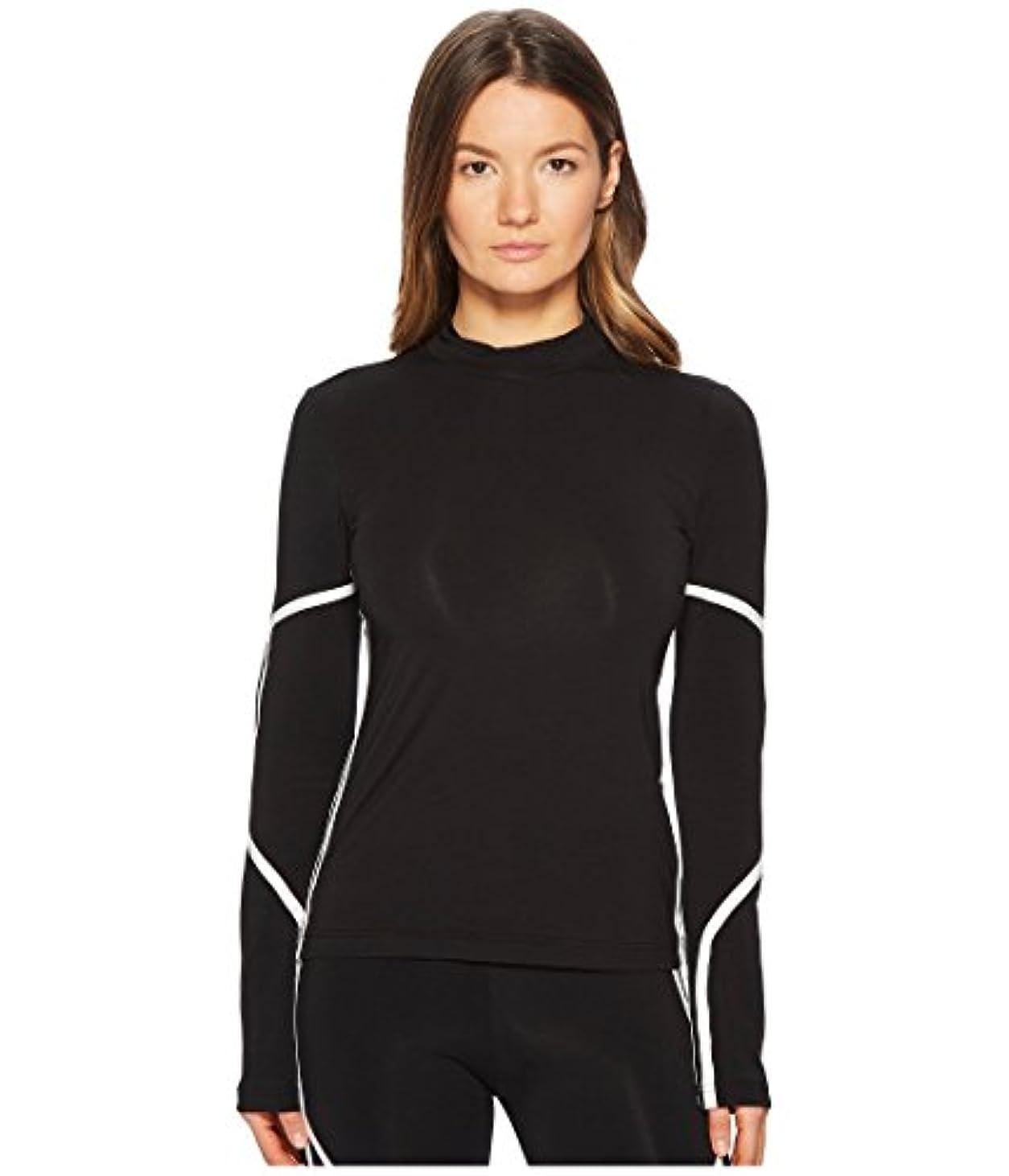 テレマコス奇跡的な確認する(アディダス) adidas レディースタンクトップ?Tシャツ Mesh Long Sleeve Tee Black/Core White M