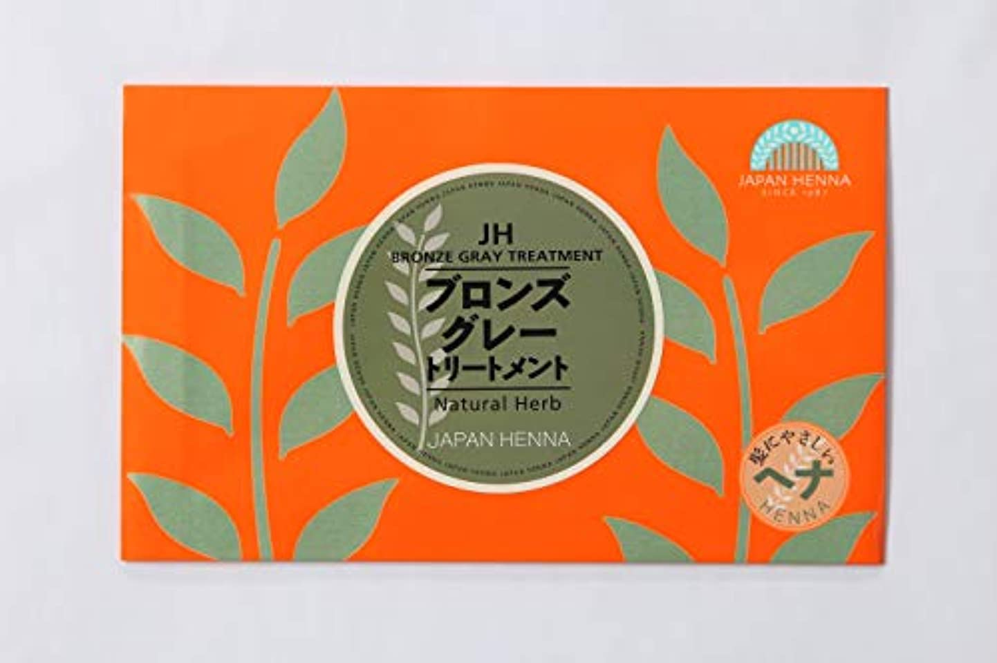 店主典型的なクランプ【4個セット】 ジャパンヘナ 100g B-9 ブロンズグレー ヘナカラー トリートメント