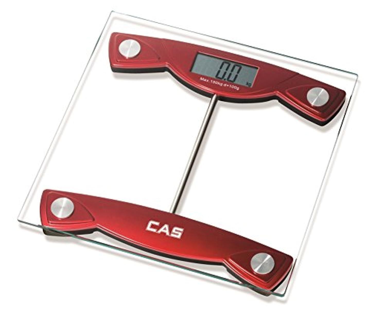 CAS デジタルヘルスメーター 体重計 HE-18 乗るだけで電源ON(最大150kg)