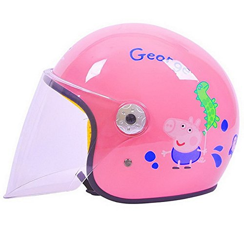 GXT バイクヘルメット こども用 ジェットヘルメット 女の...