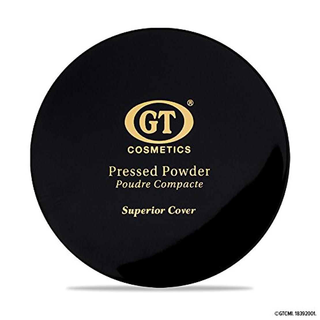 特性寸前一般的にGTpressed powder ライトベージュ SPF20 正規輸入代理店 日本初上陸 コスメティック オーガニック ファンデーション