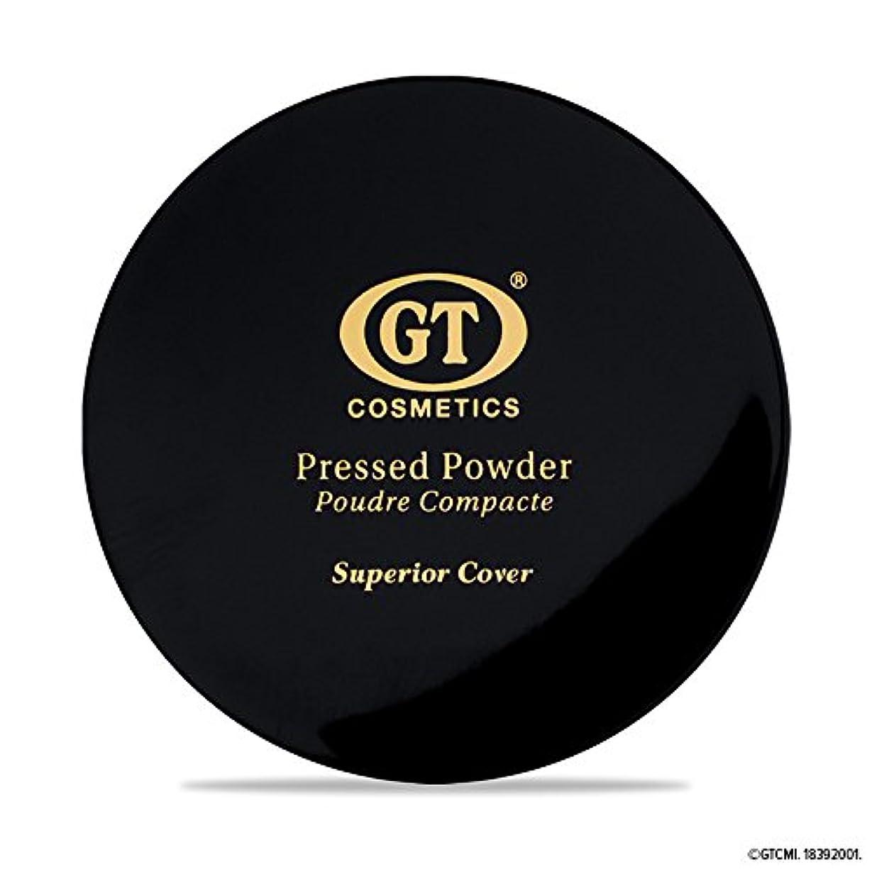 つかむソーセージ高揚したGTpressed powder ナチュラルベージュ SPF20 正規輸入代理店 日本初上陸 コスメティック オーガニック ファンデーション