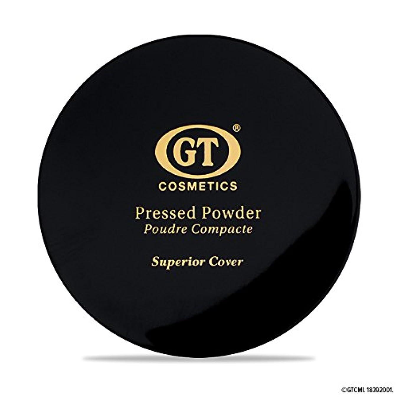 嫌がる邪悪な不明瞭GTpressed powder ナチュラルベージュ SPF20 正規輸入代理店 日本初上陸 コスメティック オーガニック ファンデーション
