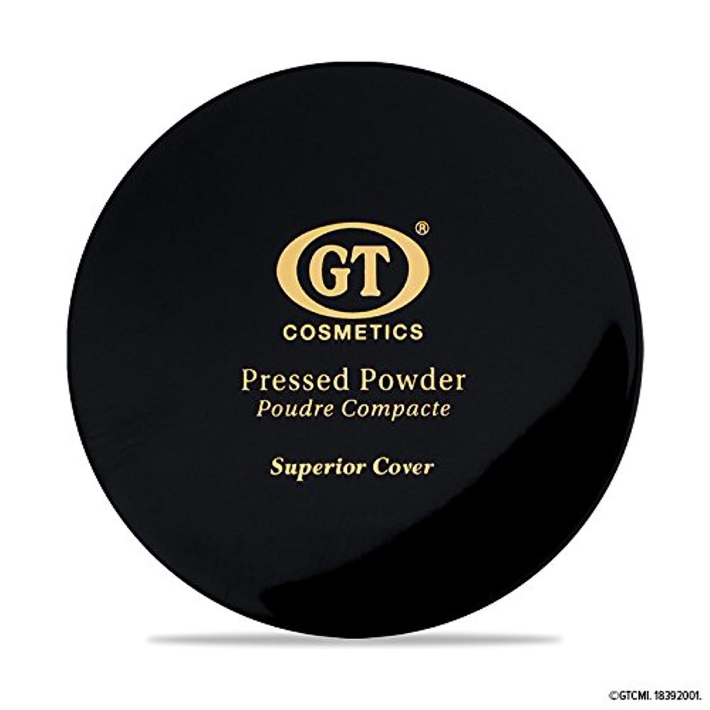 予見する結び目役員GTpressed powder ライトベージュ SPF20 正規輸入代理店 日本初上陸 コスメティック オーガニック ファンデーション