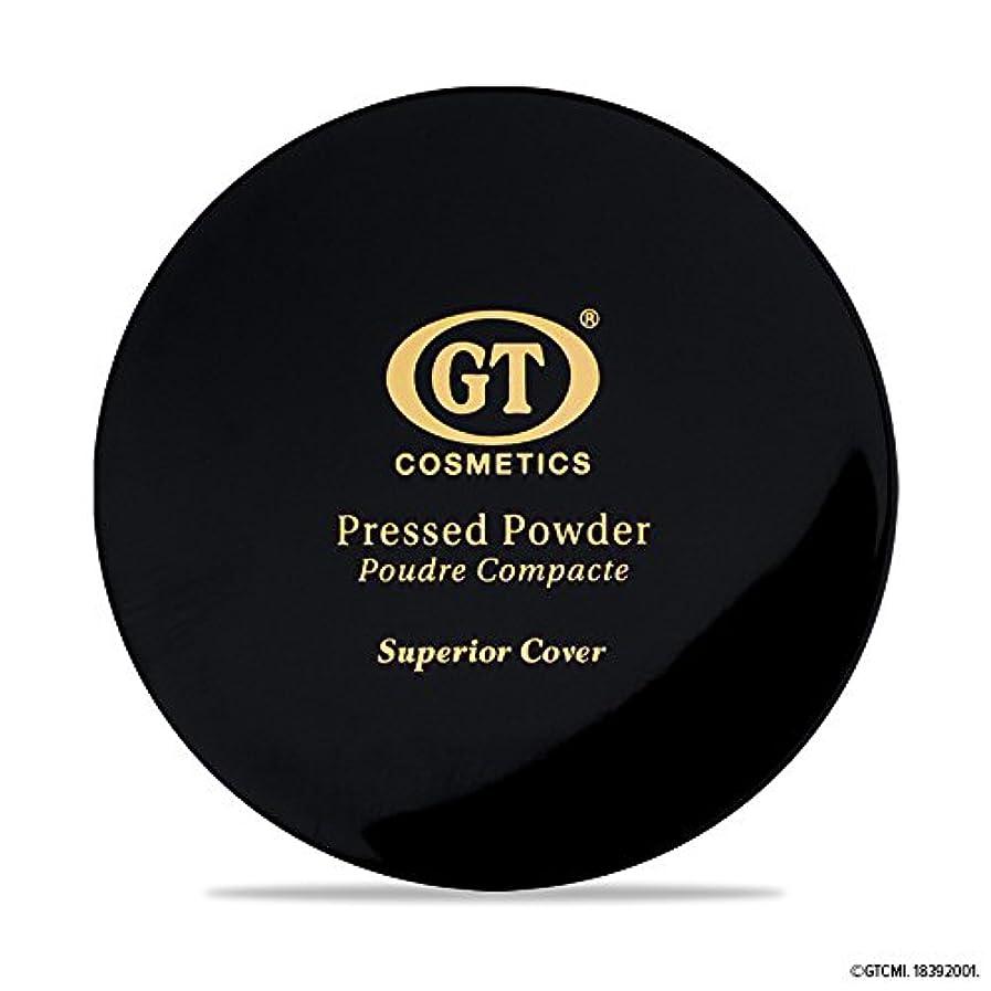 無力アイスクリーム聡明GTpressed powder ライトベージュ SPF20 正規輸入代理店 日本初上陸 コスメティック オーガニック ファンデーション