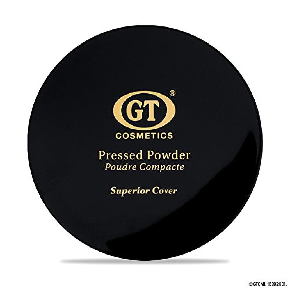 続けるくぼみ保存GTpressed powder ライトベージュ SPF20 正規輸入代理店 日本初上陸 コスメティック オーガニック ファンデーション
