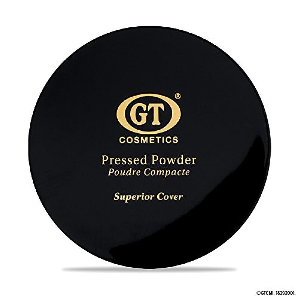 アカウント屈辱する支払いGTpressed powder ナチュラルベージュ SPF20 正規輸入代理店 日本初上陸 コスメティック オーガニック ファンデーション