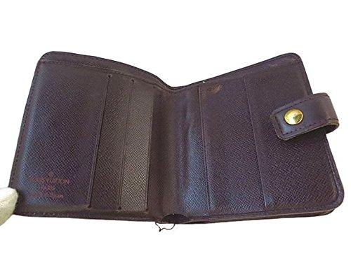 LOUIS VUITTON(ルイヴィトン)ダミエ コンパクトジップ 2つ折り財布 N61668【中古】