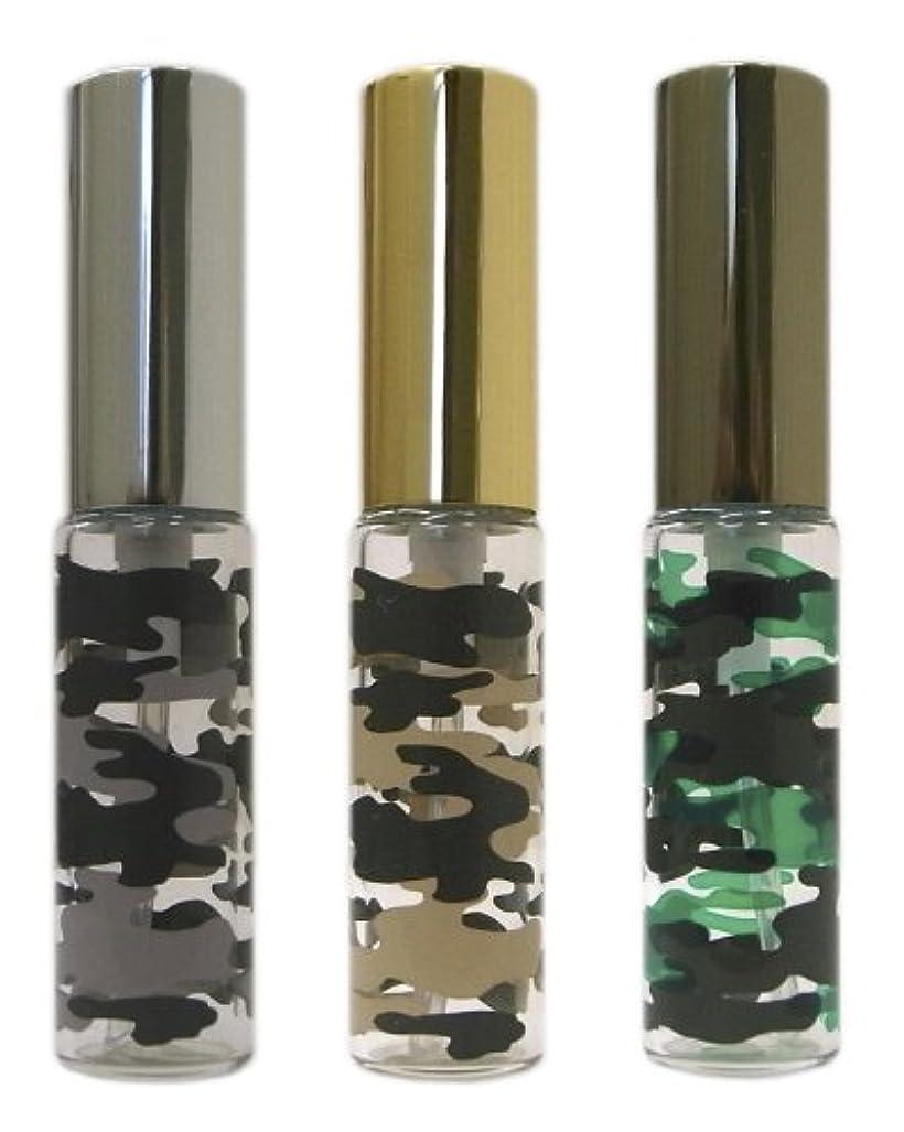 メキシコセッティング剣復刻版、ミリタリーアトマイザー カモフラ柄 3本セット