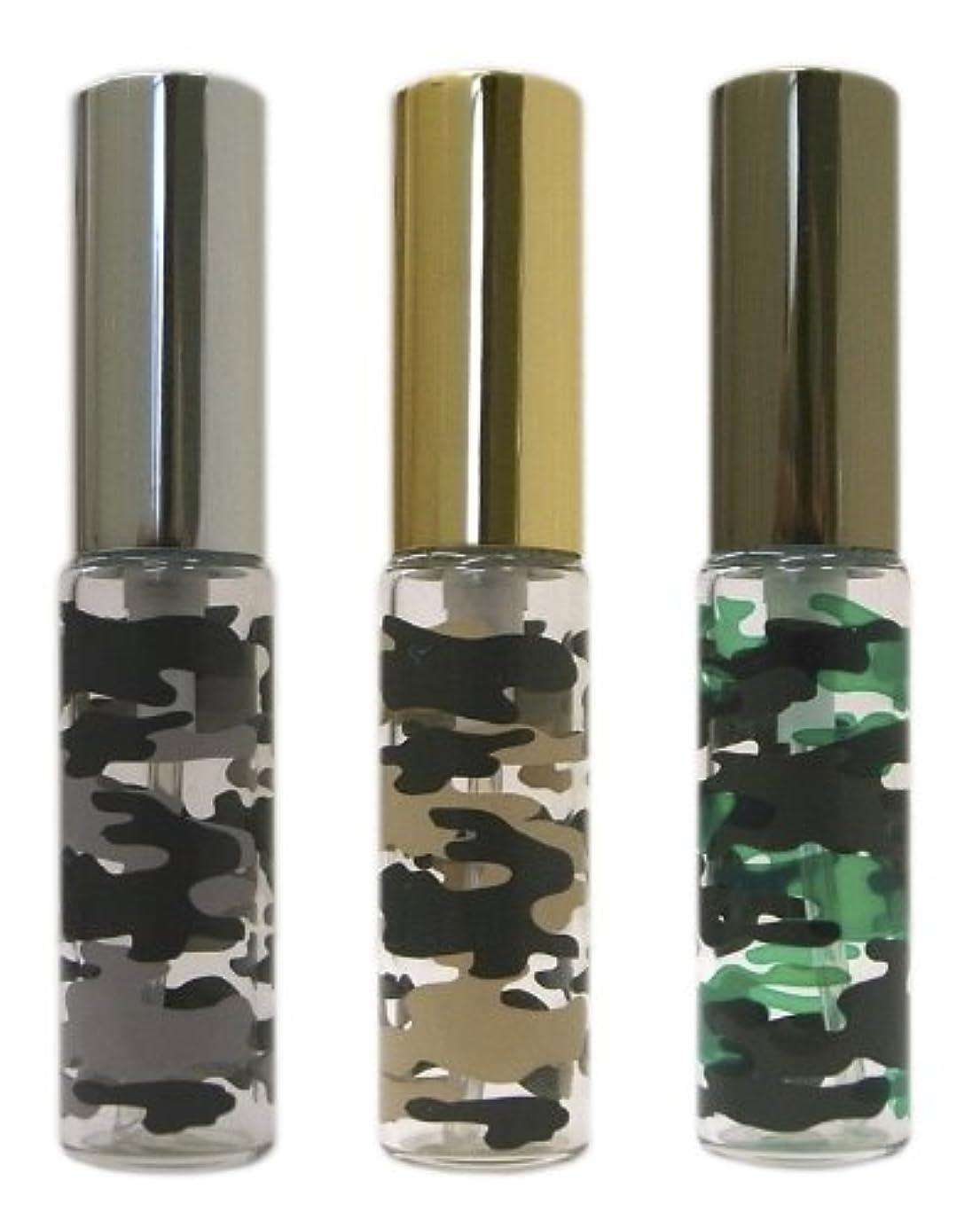 ビスケット構築する消える復刻版、ミリタリーアトマイザー カモフラ柄 3本セット