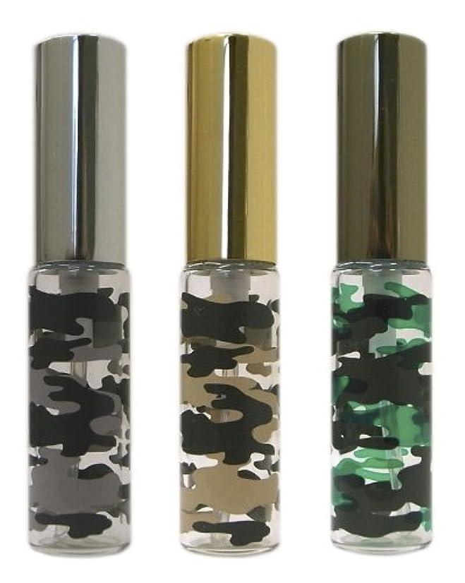 輝度祝福構造復刻版、ミリタリーアトマイザー カモフラ柄 3本セット
