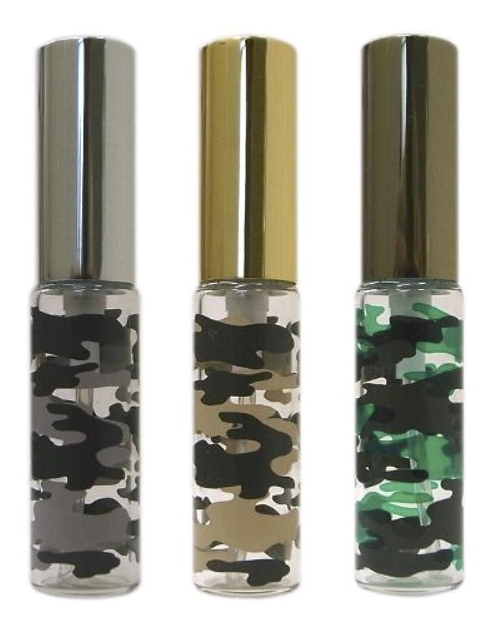 蜜上回る木材復刻版、ミリタリーアトマイザー カモフラ柄 3本セット