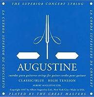 【国内正規品】AUGUSTINE BLUE HIGH TENSION SET オーガスティン クラシックギター弦