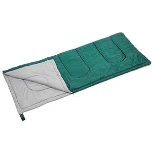 キャプテンスタッグ 寝袋 【最低使用温度15度】 封筒型シュラフ プレーリー 600 グリーン M-3448