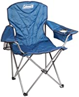 Coleman Cooler Quad Arm Chair, Blue, King Size