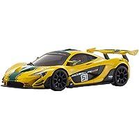 京商 ラジオコントロール 電動ツーリングカー ミニッツRWDシリーズ レディセット McLaren P1 GTR イエロー/グリーン 32324YG