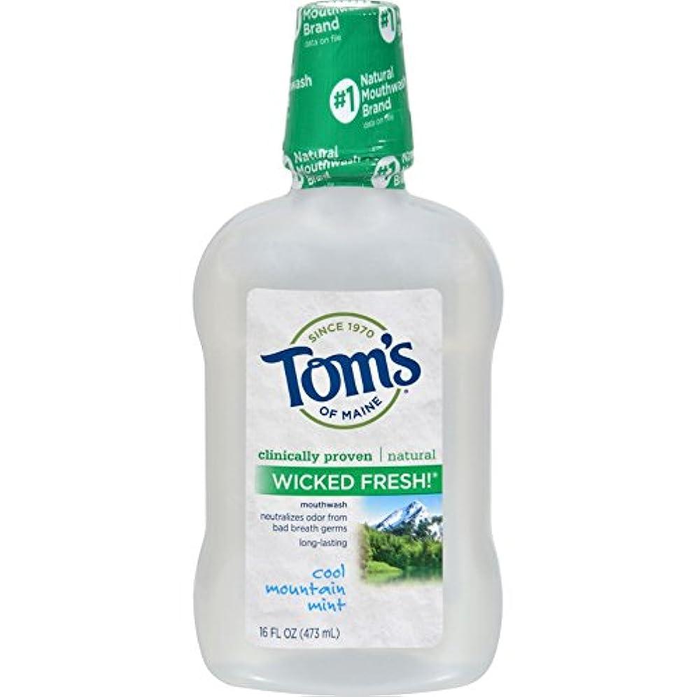 散文分離まだTom's of Maine メインうがい薬WkdfrshミントMNのトムズ
