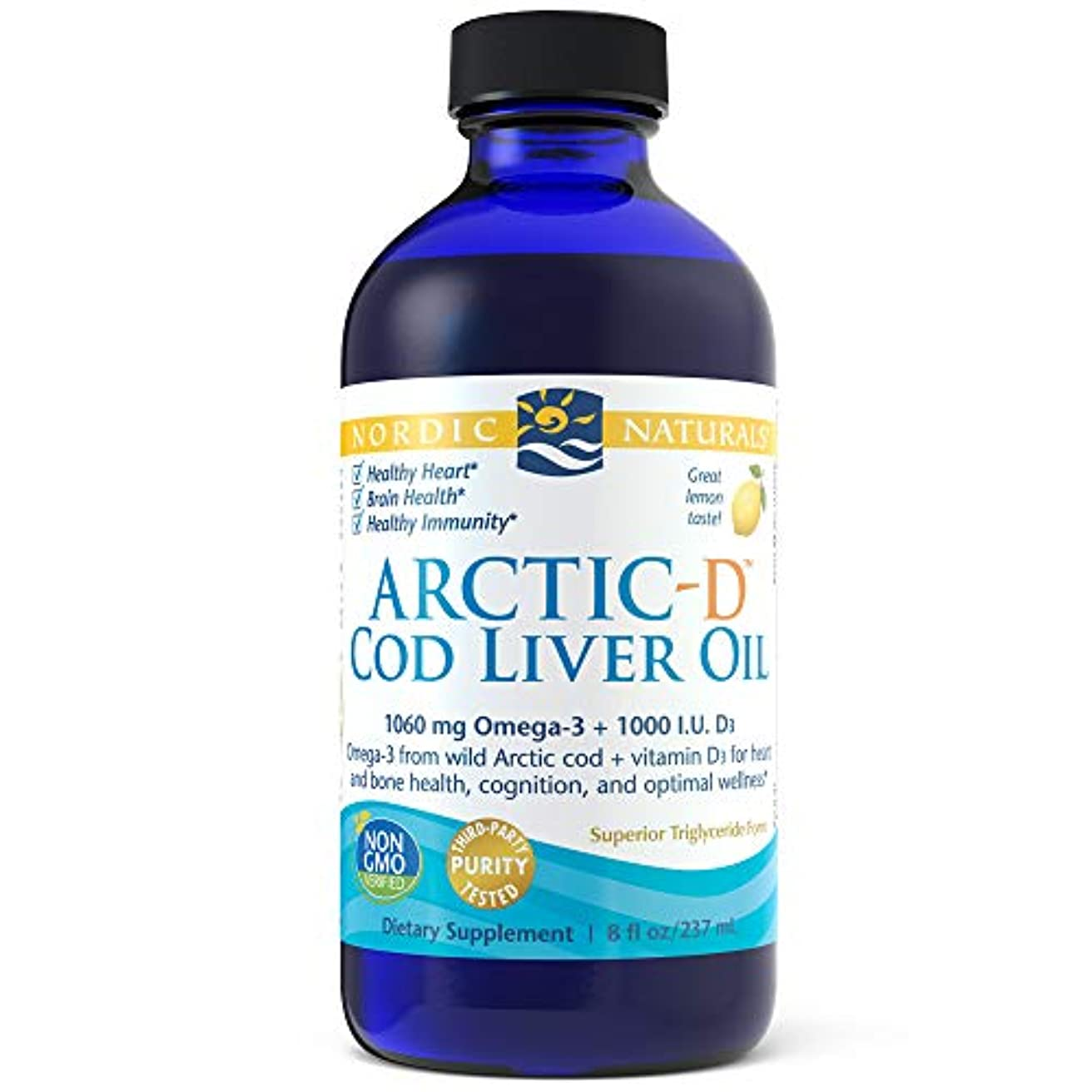熟すレシピアンティークNordic Naturals アークティック CLO - コド リバー オイル イチゴ 8オンス