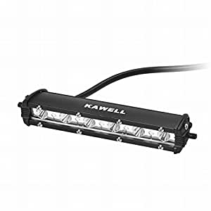 KAWELL 18W CREE 製 LED ランプ ワークライト 作業灯 荷台ライト 補助灯 12v/24vの車両にも対応 狭角タイプ 防水防塵 爆光仕様「一年保証」 …